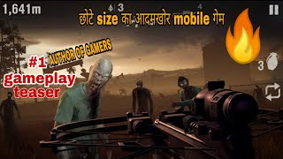 Into The Dead 2 : Zombie Survival | best small size mobile zombie game | by author of gamers