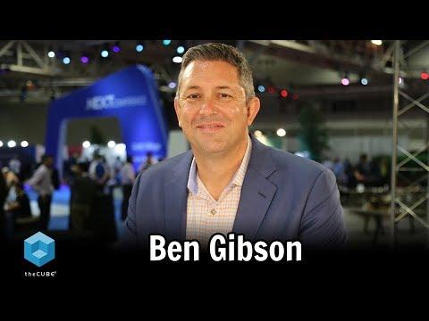 Ben Gibson, Nutanix | Nutanix .NEXT 2018