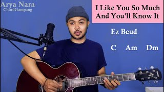 Download lagu Chord Gampang (I Like You So Much And You'll Know It - Ysabelle Cuevas) Arya Nara (Tutorial Gitar)