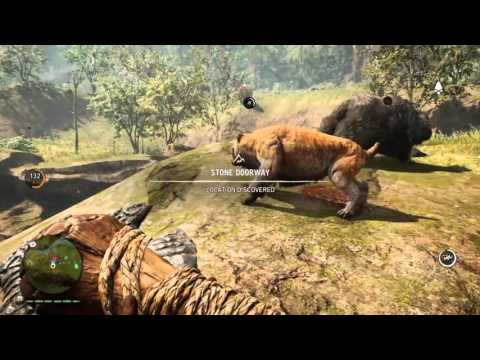 Far Cry Primal 5 minutes of Flame Fang Saber Tooth gameplay