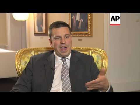 Estonia PM previews EU presidency role