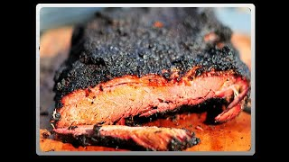 Brisket On The Big Green Egg:  Franklin Bbq Method