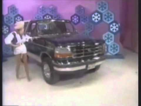Ford Broncos/Trucks/SUVs Price Is Right giveaway collage