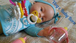 VLOG з лялькою БЕБІ БОН / день з лялькою бебі бон / розпакування посилок