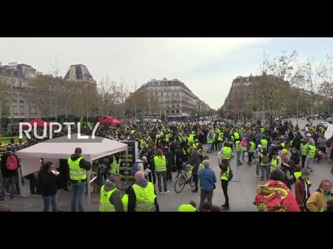 : Yellow Vests protest for 21st consecutive week