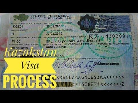 KAZAKSTAN TOURIST VISA | VISA PROCESS & FEES | AIR ASTANA | TRANSIT VISA