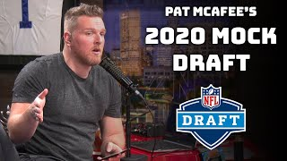 Pat McAfee's 2020 Mock Draft