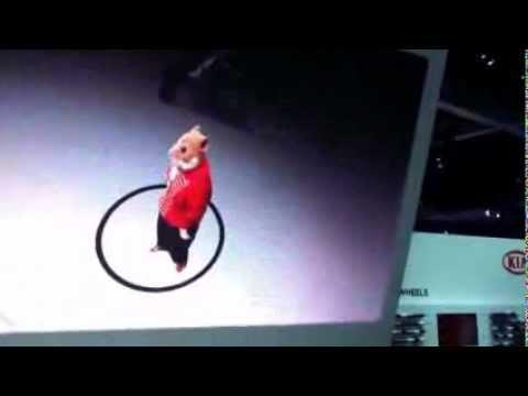 Kia Soul interactive display Los Angeles Auto Show 2012 December 4