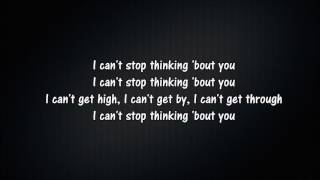 Dua Lipa - Thinking 'Bout You   Lyrics   Lyric Master