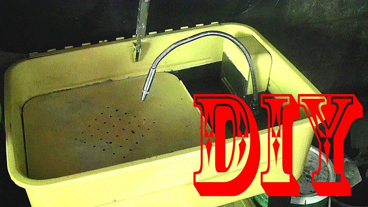 Diy Garage 20 Gallon Parts Washer Cleaning Fluid Test