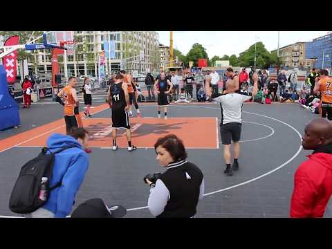 Finals Men Elite Streetball Masters Amsterdam 2016. Team Amsterdam vs All Ball Snapsports