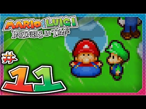 Mario and Luigi: Partners In Time - Part 11: Kamek's Diabolical Plan!