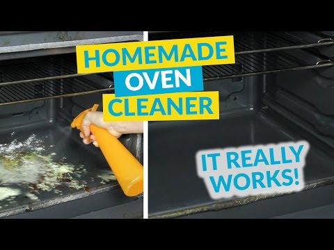 Easy Eco Homemade Oven Cleaner