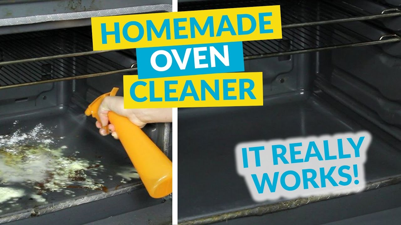 Easy Eco Homemade Oven Cleaner - YouTube
