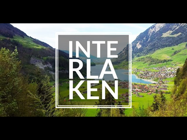 Interlaken, Switzerland - Drone Video