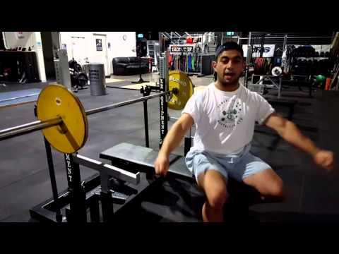 Bench Press: Setting up for Shoulder Depression