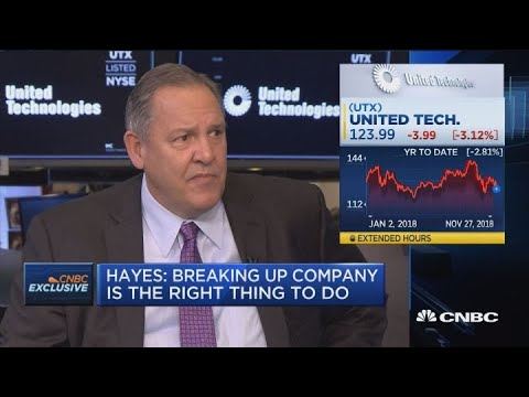 Watch CNBC's full interview with United Technologies' Hayes