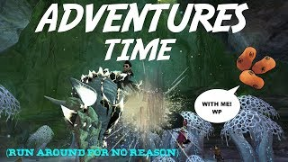 "[GW2] ADVENTURES TIME! - ""Run Around for No Reason"" (w/ Wooden Potatoes)"