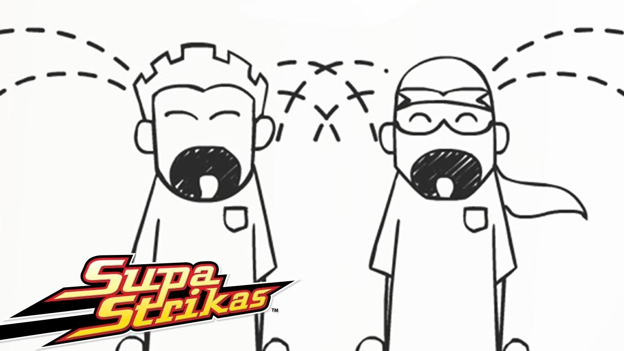 Supa Strikas | Golos e Resumos (Joe Legal Perde a sua Sorte 2) | Animados de FUTEBOL em Português!