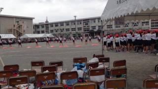 茜部小学校の運動会