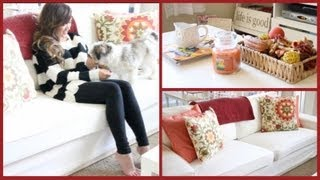 Redecorate With Me for Fall: My Living Room! 🍁🍂 ThatsHeart