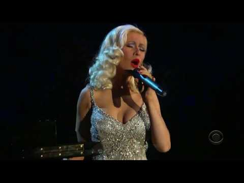 Christina Aguilera Feat  Herbie Hancok - A Song For You (Grammy 2006)