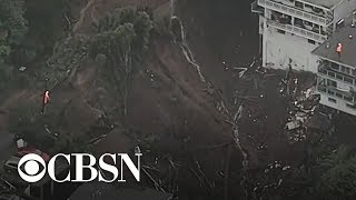 Atmospheric river in California causes destructive mudslides