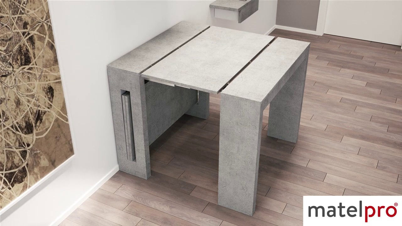Table Console Extensible Contemporaine Louisiane Matelpro Com