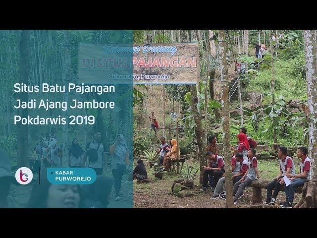 Situs Batu Pajangan Jadi Ajang Jambore Pokdarwis 2019