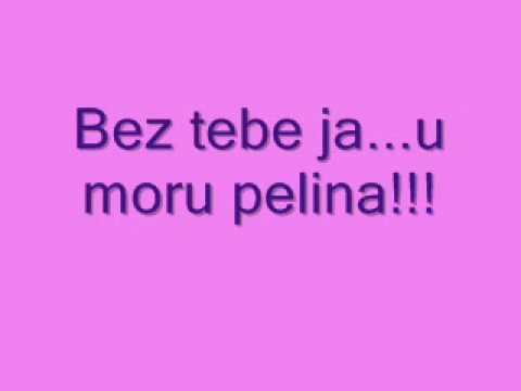 Marija Serifovic-Bez tebe tekst - lyrics