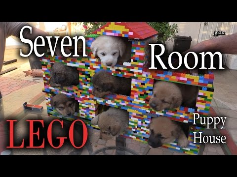 LEGO 7 Room Puppy House