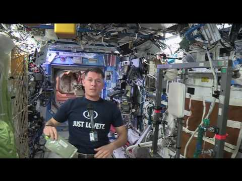 Space Station Commander Discusses Life in Space with Students from Former School