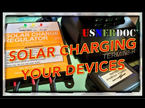 Solar Charging Your Devices!