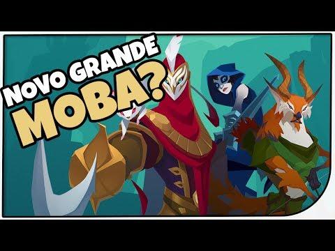 PRÓXIMO GRANDE MOBA!? Gigantic! Jogo Grátis - Gameplay em Português em Português PT-BR