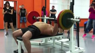 Дмитрий Алексеев. Русский жим 125 кг на 20 раз