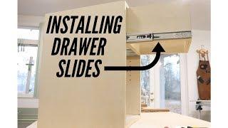 Installing Full Extension Drawer Slides