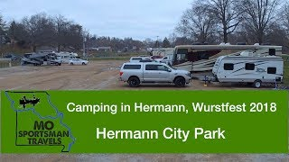 Camping in Hermann Missouri | Hermann City Park | Wurstfest