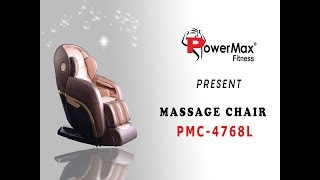 INDULGE PMC-4768L - 4D Zero Gravity Massage Chair by Powermax Fitness