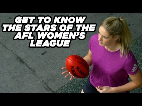 Get to know these Women's AFL Stars