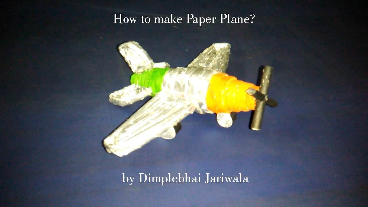 how to make a model plane