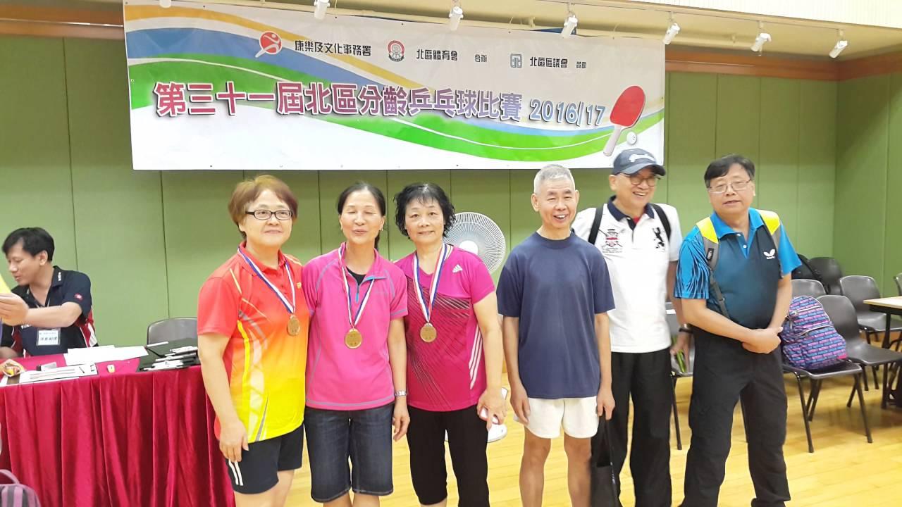 20160703_康文署主辦 第三十一屆北區分齡乒乓球比賽(2016-17)17 頒獎花絮 - YouTube
