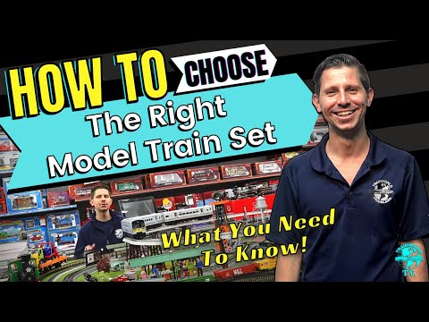 How To Pick The Right Model Train Set – Introduction To All The Scales And Starter Set Manufacturers