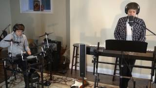 The Chainsmokers Coldplay Something Just Like This piano drums vocals cover.mp3