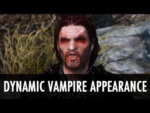 Skyrim Mod: Dynamic Vampire Appearance - YouTube