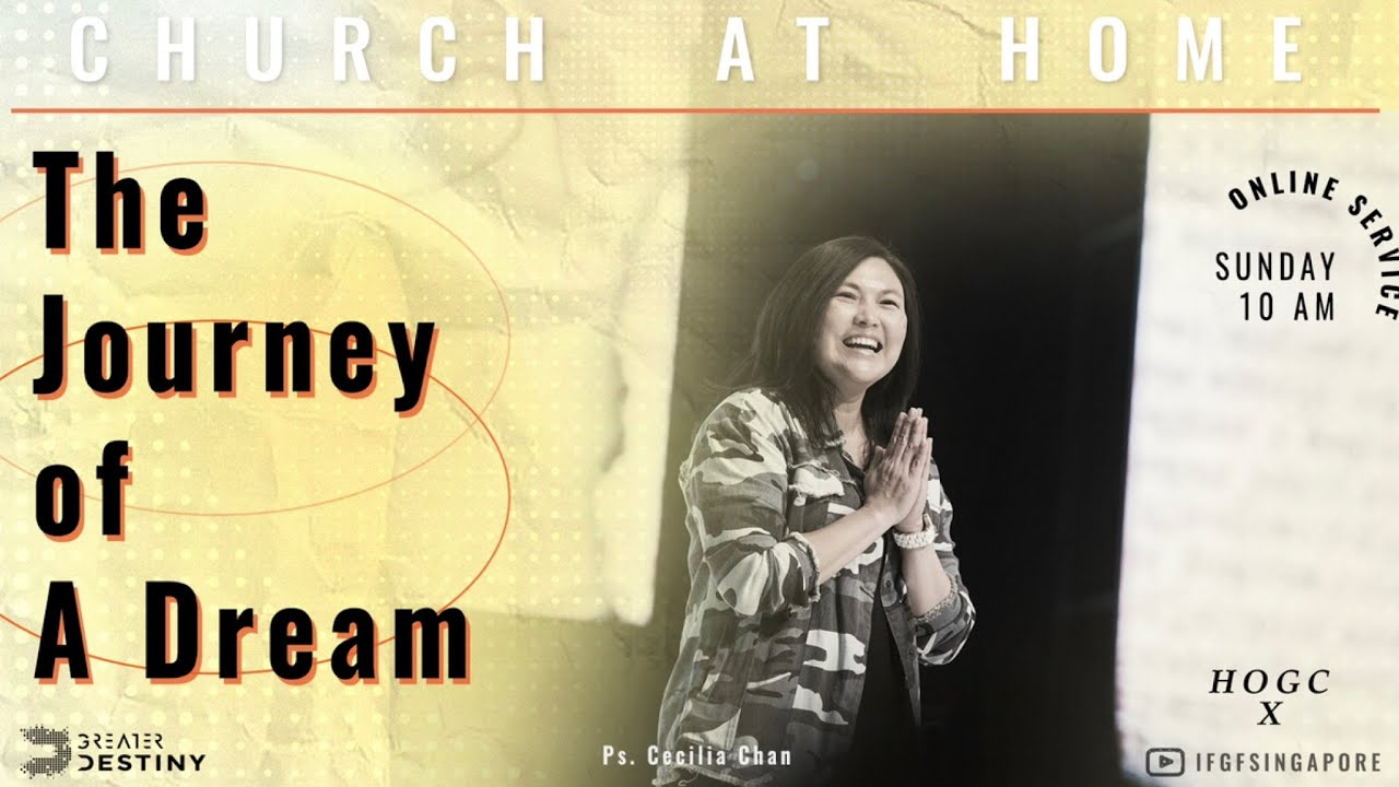 BOUNCE BACK: The Journey Of A Dream - Ps. Cecilia Chan (Heart Of God Church)