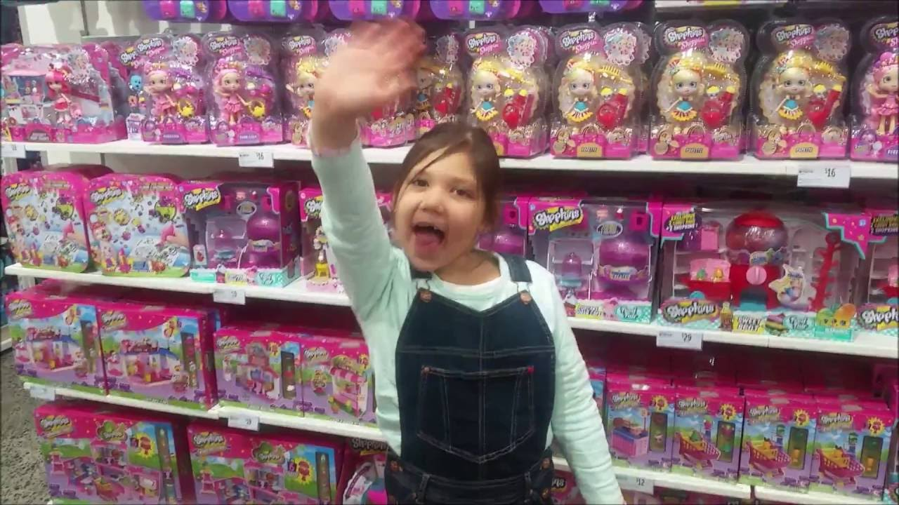Super Girl Toy Hunt For Shopkins Shoppies At Target