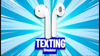 *New Airpods* Roblox Texting Simulator