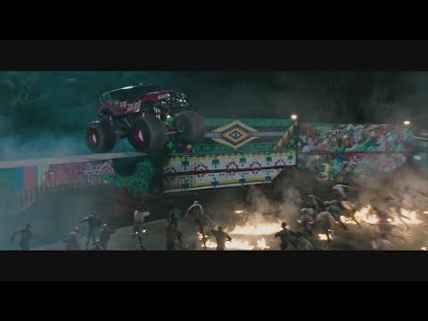 Монстр-трак и зомби. \ Zомбилэнд: Контрольный выстрел Zombieland: Double Tap
