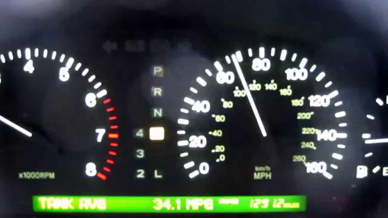 2000 lexus ls400 mpg