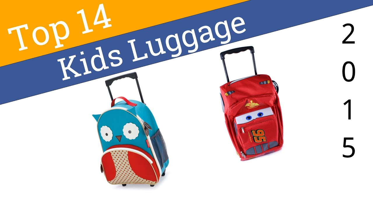 14 Best Kids Luggage 2015 - YouTube
